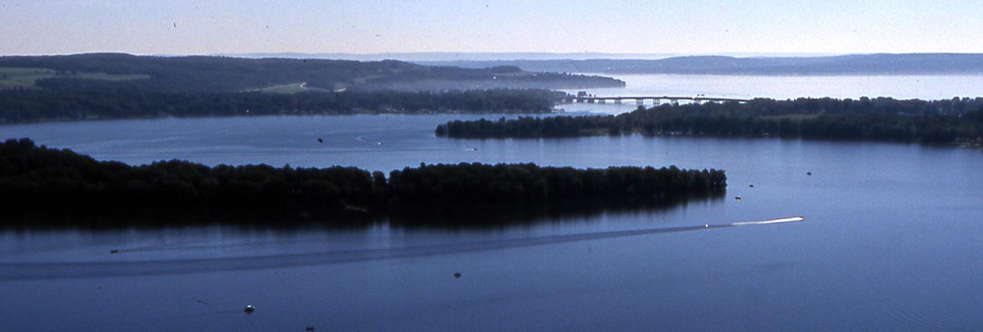 Bemus Point & Long Point, NY - Chautauqua Lake