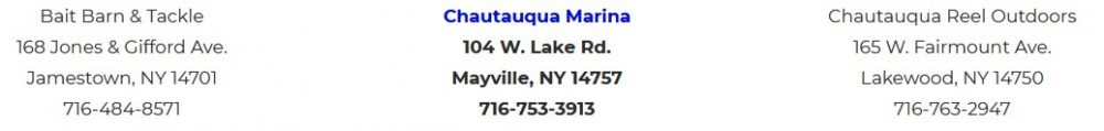 Chautauqua Lake Fishing - Highlight Listing