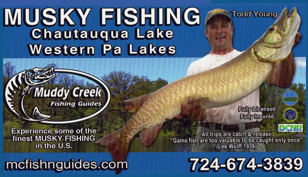 Todd Young - Chautauqua Lake Fishing Guide